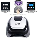 MelodySusie - Pro24W Nail Lamp Smart Gel Nail Dryer Mixed LED UV Light Beads Curing All Brands LED UV Gel Nail Polish