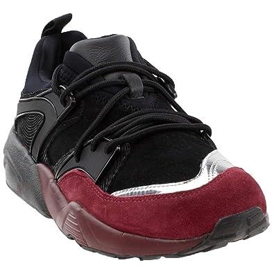 e6edc1f68750 PUMA Mens Blaze of Glory OG Halloween Athletic   Sneakers Burgundy