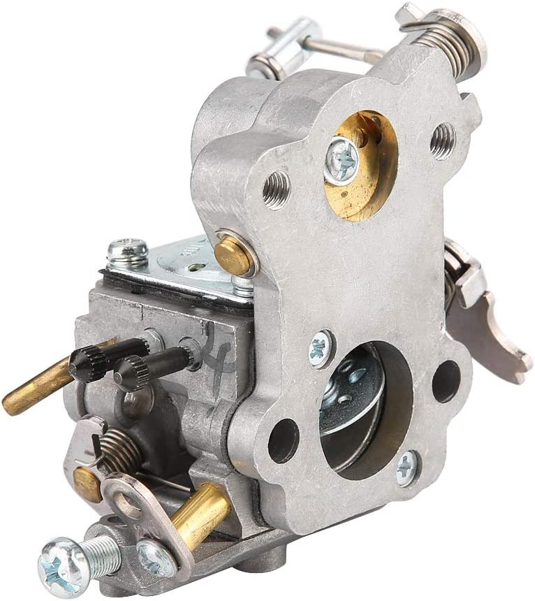 KIMISS Replacement Carburetor Fits for Poulan Craftsman 530035589 530035590 545040701 Aluminum