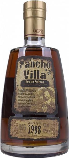 Pancho Villa Solera envejecido 1988 Ron - 700 ml: Amazon.es ...