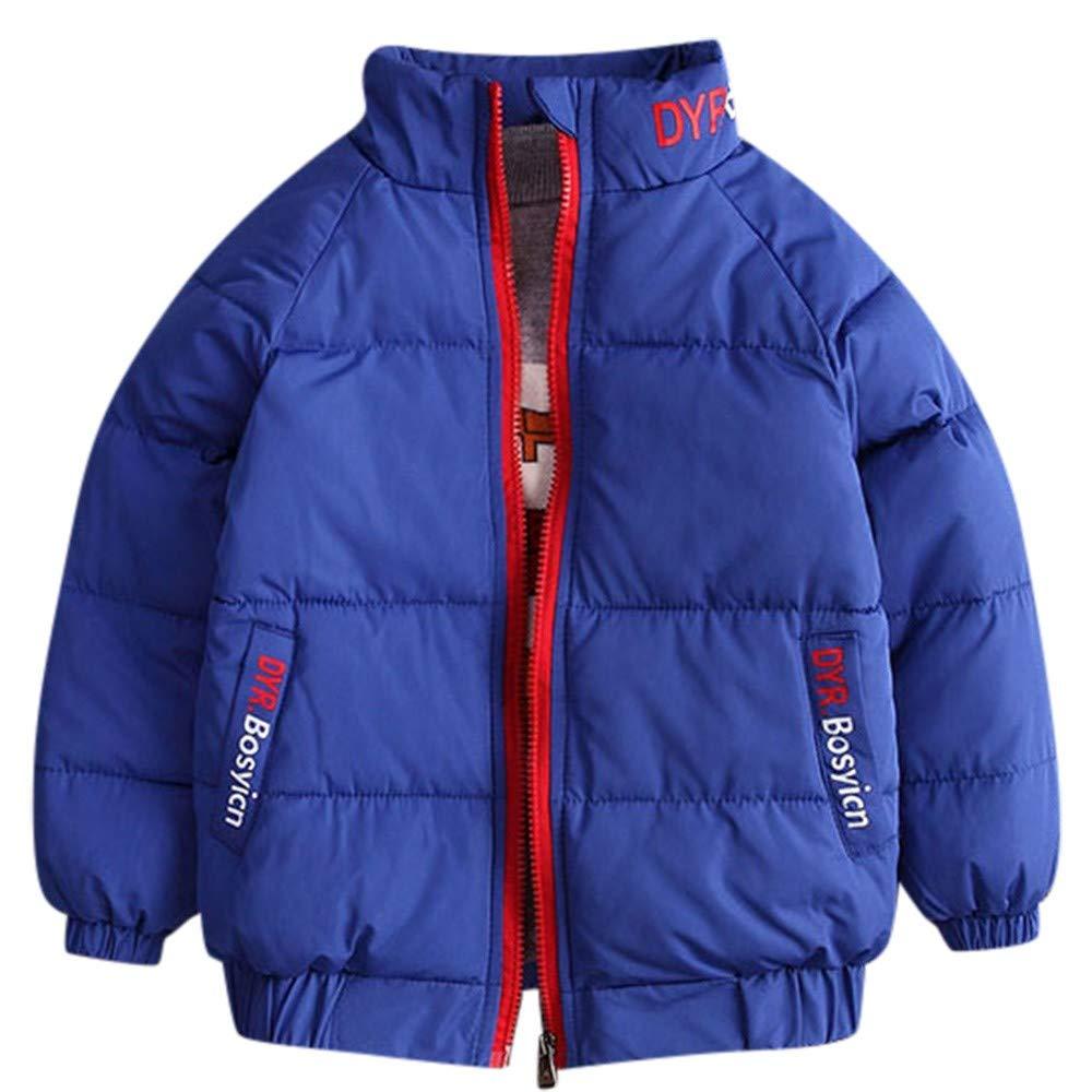 Kobay Kinder Baby Jungen Winter Stened Coat Plus SAMT Dicke Warme Winter Daunen Baumwolle Jacke Oberbekleidung