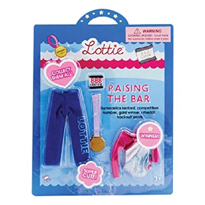 Doll Outfit by Lottie Raising The Bar Clothing Set| Best fun gift for empowering kids ages 3 & up: Toys & Games