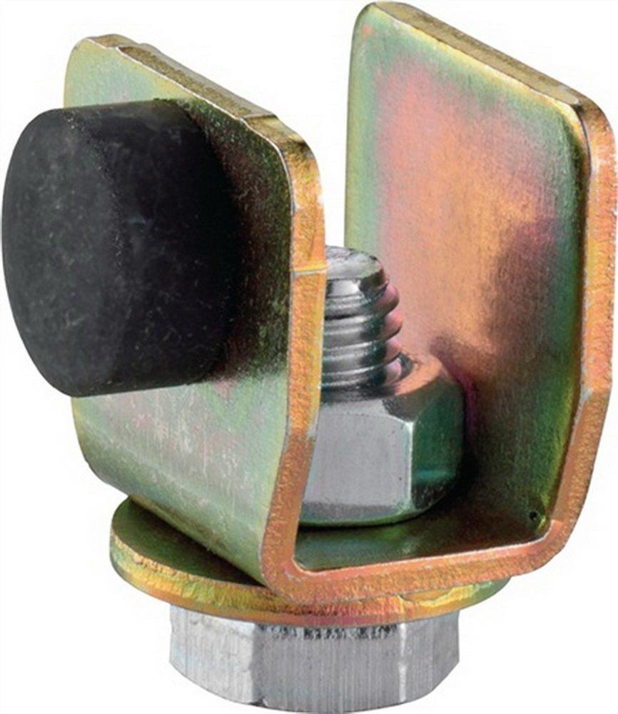 Schienenstopper 400 P f.Profil 400 galvanisch verzinkt Laufwegbegrenzung HELM