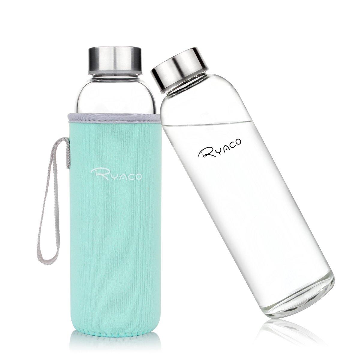 ryaco glastrinkflasche bei trinkflaschen test unterwegs mit anzug. Black Bedroom Furniture Sets. Home Design Ideas