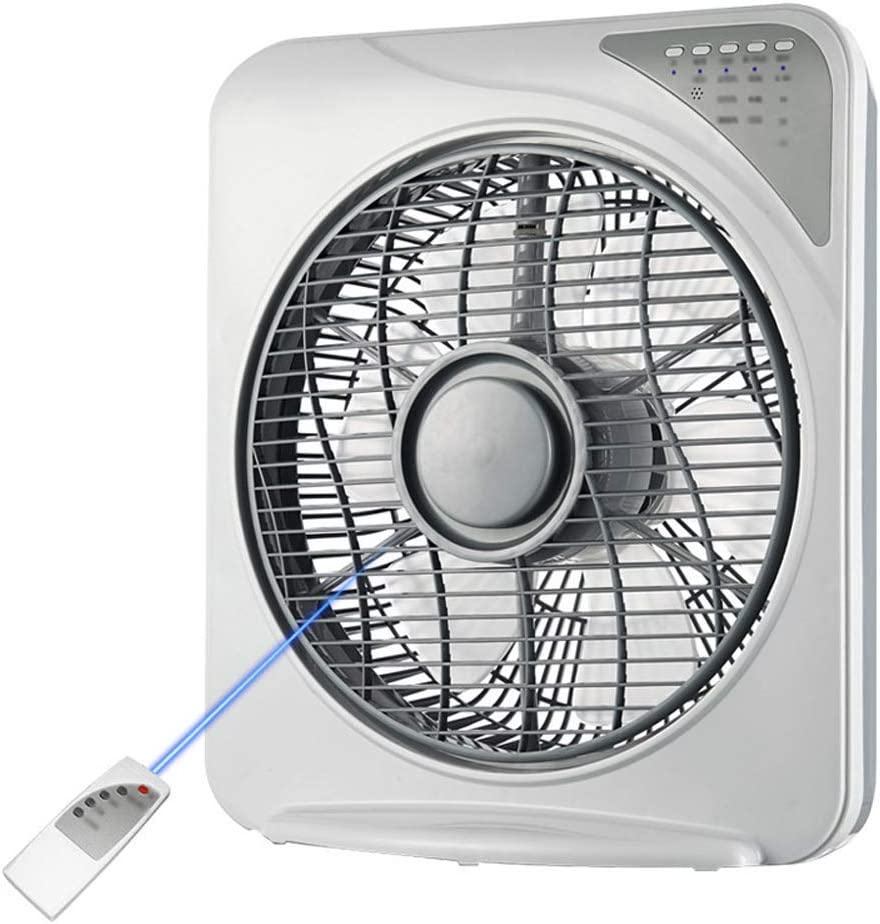 HQYXGS Desk Fan Powerful Air Circulator Turbo Fan 35Db Quiet Fan for Sleeping Remote Control Whole Room Cooling Fan