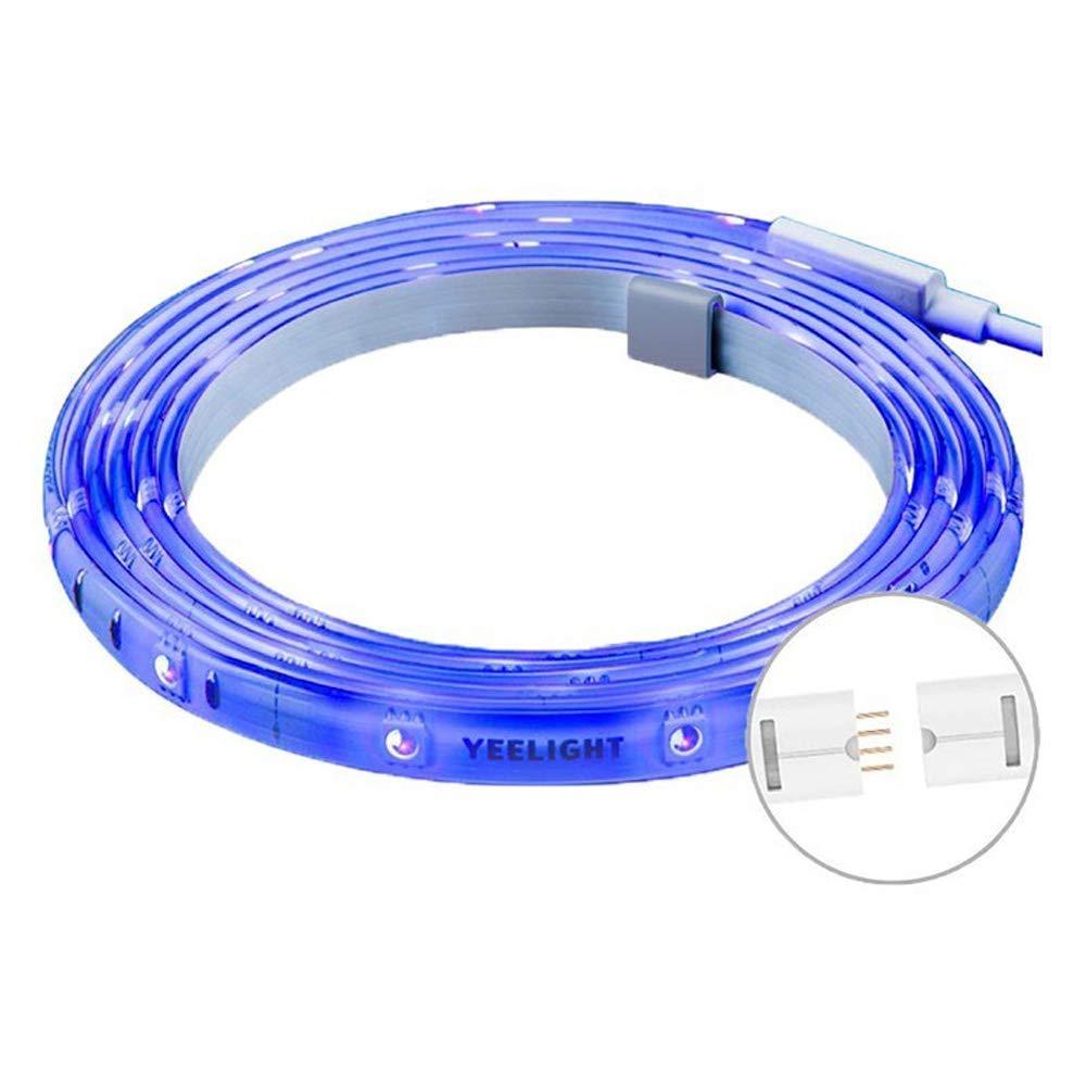 Yeelight Lightstrip Plus, 10 Meter Erweiterbar, WiFi RGB Strip für Mi Home APP, Kompatibel mit Alexa, Google Assistant Remote Voice Control