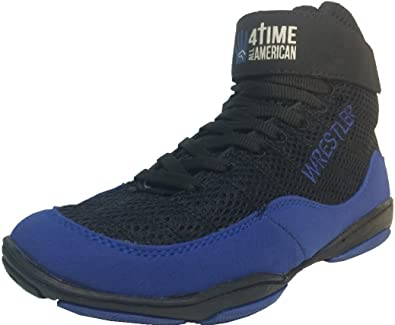 Youth, Kids Wrestling Shoes, Blue