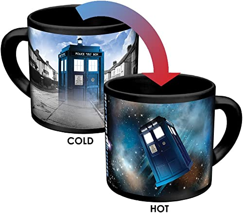 The Unemployed Philosophers Guild Store Doctor Who Disappearing Tarids Coffee Mug