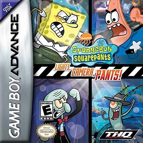 SpongeBob Squarepants: Lights, Camera, Pants - Game Spongebob Lights