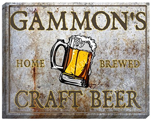 gammons-craft-beer-stretched-canvas-sign-16-x-20