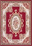 Cheap Well Woven Miami Medallion Centre Red Traditional Area Rug 3'3″ X 5'3″