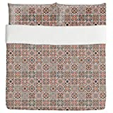 Sixteen Ways Duvet Bed Set 3 Piece Set Duvet Cover - 2 Pillow Shams - Luxury Microfiber, Soft, Breathable