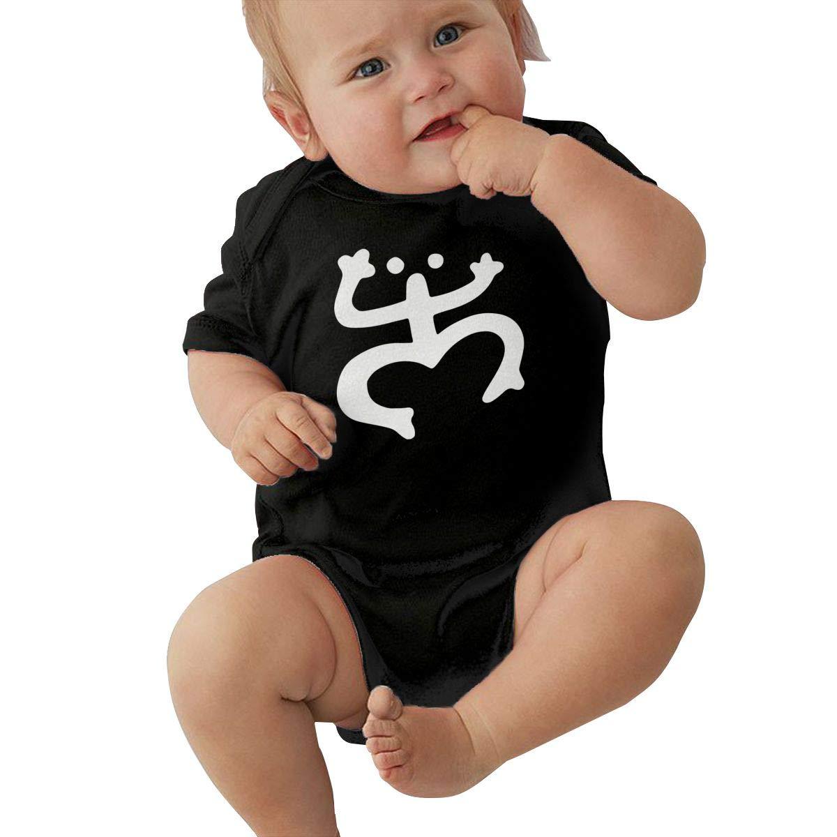 Newborn Baby Short Sleeve Jumpsuit Puerto Rico Coqui-1 Kid Pajamas