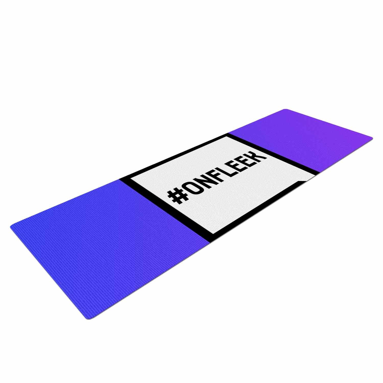 Amazon.com : KESS InHouse Original On Fleek Yoga Exercise ...