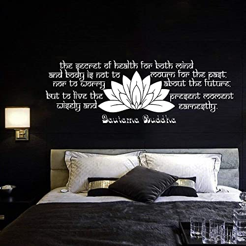 Amazoncom Wall Decal Quote Vinyl Sticker Decals Quotes Buddha