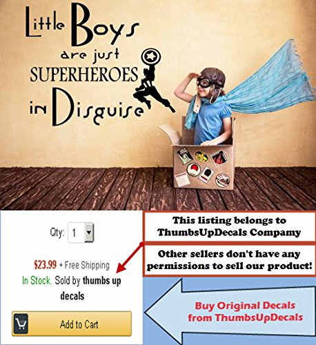 Wall Decals Cheap Boys Are Just Superheroes Quote Decal Kids Nursery Vinyl Stickers Home Bedroom Decor Playroom Art T94
