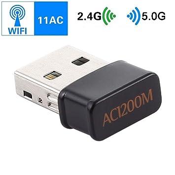 Computer YHM AC1200Mbps 2.4GHz y 5GHz Banda USB 2.0 ...