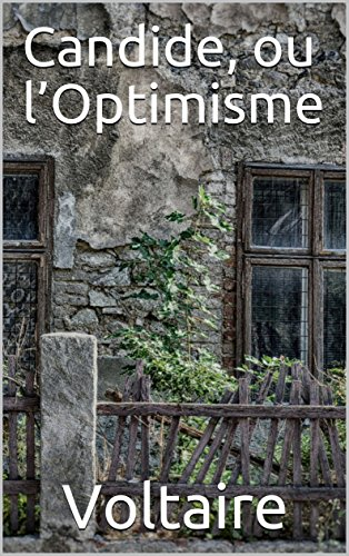 Candide Ou Loptimisme French Edition Kindle Edition By