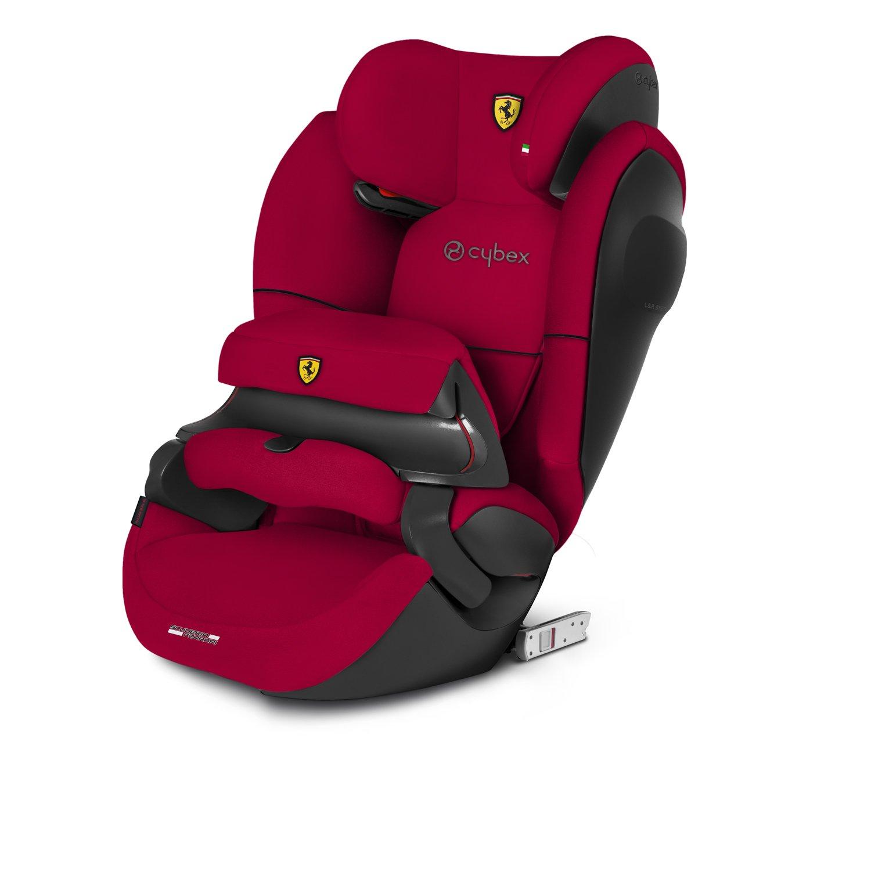 CYBEX Silver 2-in-1 Kinder-Autositz Pallas M-Fix SL Scuderia Ferrari, Für Autos mit und ohne ISOFIX, Gruppe 1/2/3 (9-36 kg), Ab ca. 9 Monate bis ca. 12 Jahre, Racing Red 519000243