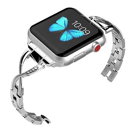 Amazon.com: Soulike - Correa para Apple Watch (1.496 in ...