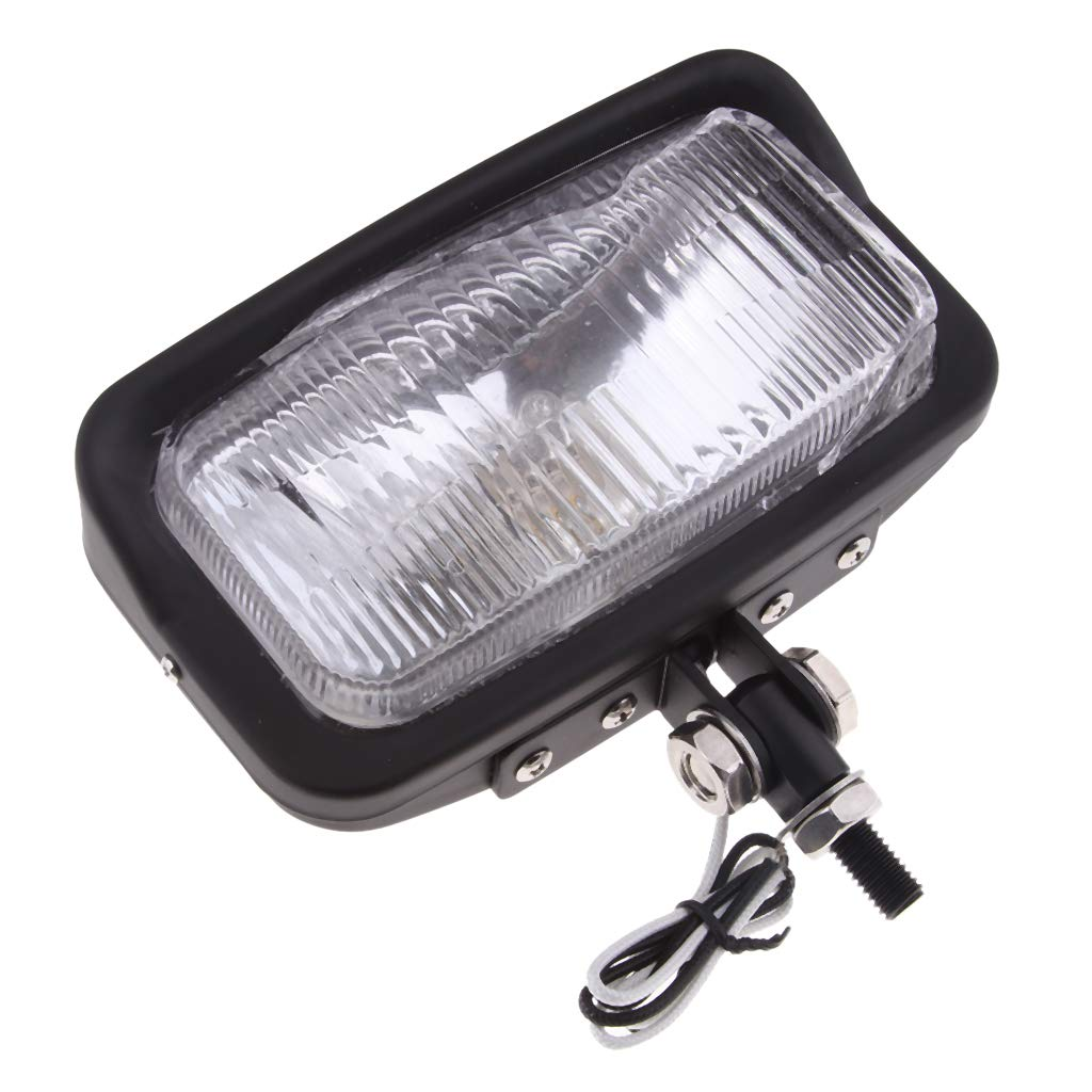 TUINCYN 6 1//2 Inch Universal Motorcycle LED Healight Projector Black Head Lamp Hi//Lo Beam Motorbike Driving Fog Light Lamp