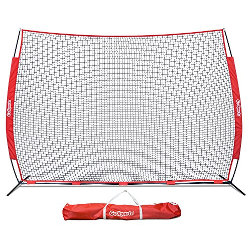 - GoSports Portable 12' x 9' Sports Barrier Net - Great for Any Sport - Includes Carry Bag