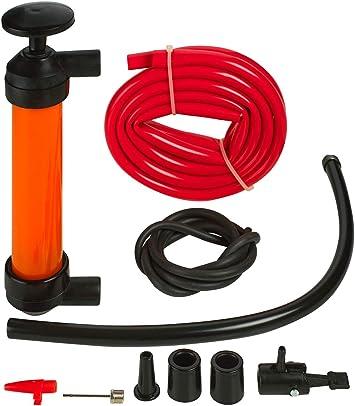 Automotive Emergency Katzco Hand Siphon Transfer Pump 2-Pack- for ...