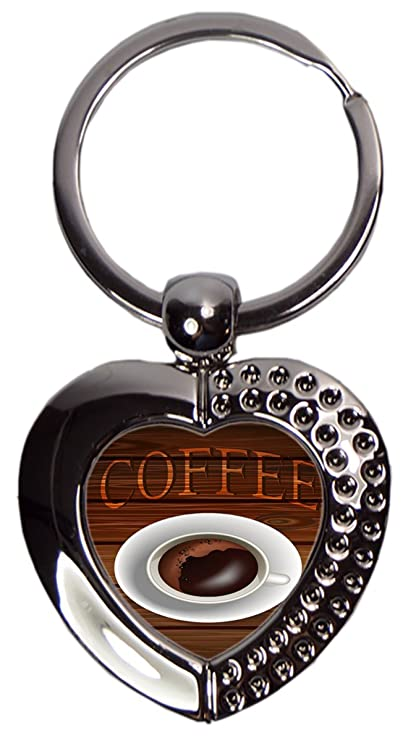 Leotie GmbH Llavero Coffee Cafe Bar Taza de café Corazón ...