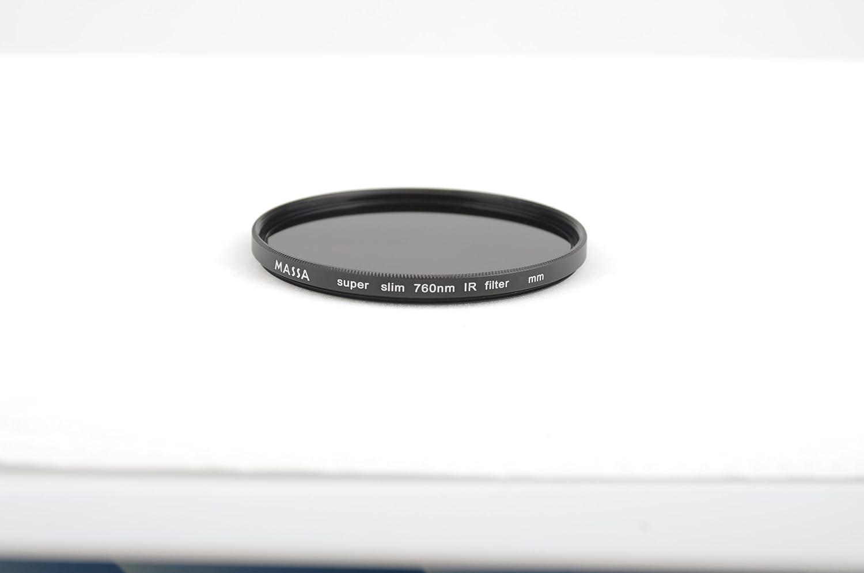 Massa 62 mm profesional IR760 760 nm filtro por infrarrojos Super Slim