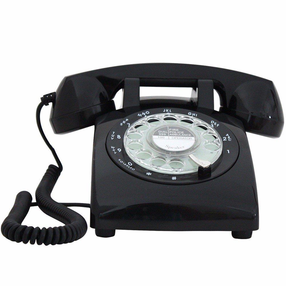 Vintage Retro Teléfono Tocadiscos antiguo clásico retro ...