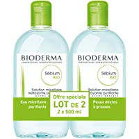 Bioderma Sebium H2O Micelle Solution 2 x 500ml