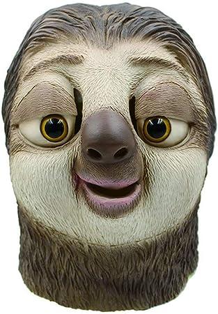 Mask-MM - Peluca de látex para Halloween, diseño de animales: Amazon.es: Hogar