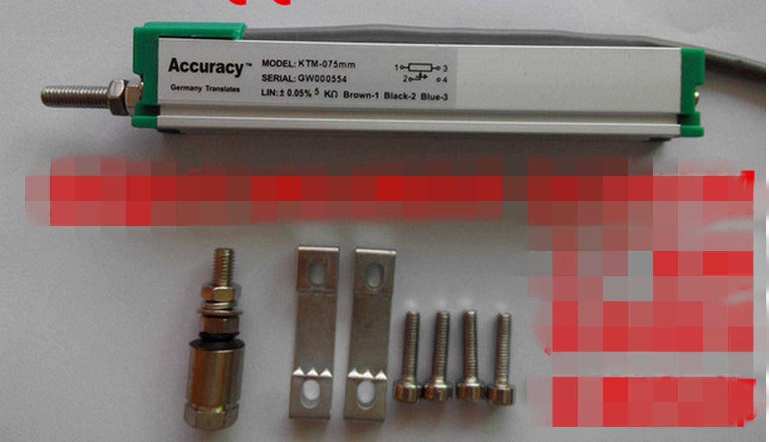 ACCURACY KTM micro rod type linear displacement sensor 225mm linear sensor KTM-225MM by JIAWANSHUN (Image #2)