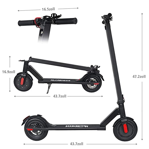 Amazon.com: urbetter Electric Scooter, 250W High Power Smart ...