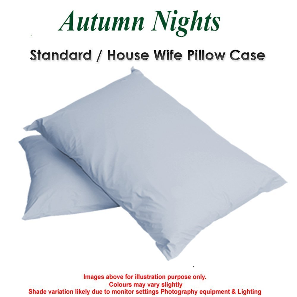 4 Foot Size, Black BOLSTER PILLOWCASE 200TC Percale Quality In 6 Sizes and 24 Colours