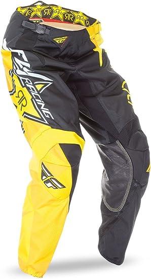 Fly Motocross Mtb 2016 Hose Kinetic Rockstar Gelb Schwarz Bekleidung