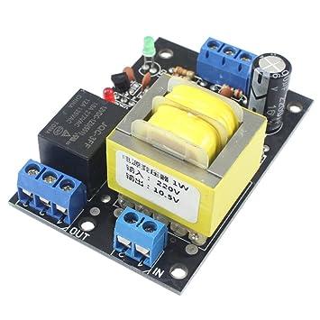 Topker Módulo de conmutador de Detección del Sensor de Nivel de Agua Profesional de la CA 220V 10A Controlador de Nivel de Líquido de Drenaje automático: ...