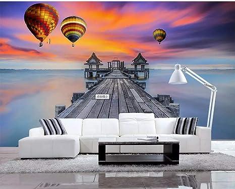 Decorazioni Per Casa Al Mare : Yuanlingwei foto personalizzata wallpaper murale molo creativo al