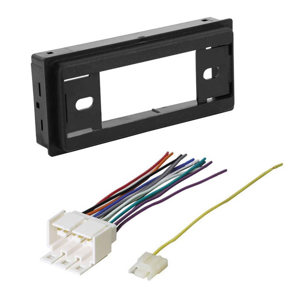 Amazon.com: CAR RADIO STEREO RADIO KIT DASH INSTALLATION MOUNTING W/ WIRING  HARNESS 1982 - 1991 BUICK CADILLAC CHEVROLET GMC OLDSMOBILE PONTIAC: Car ...
