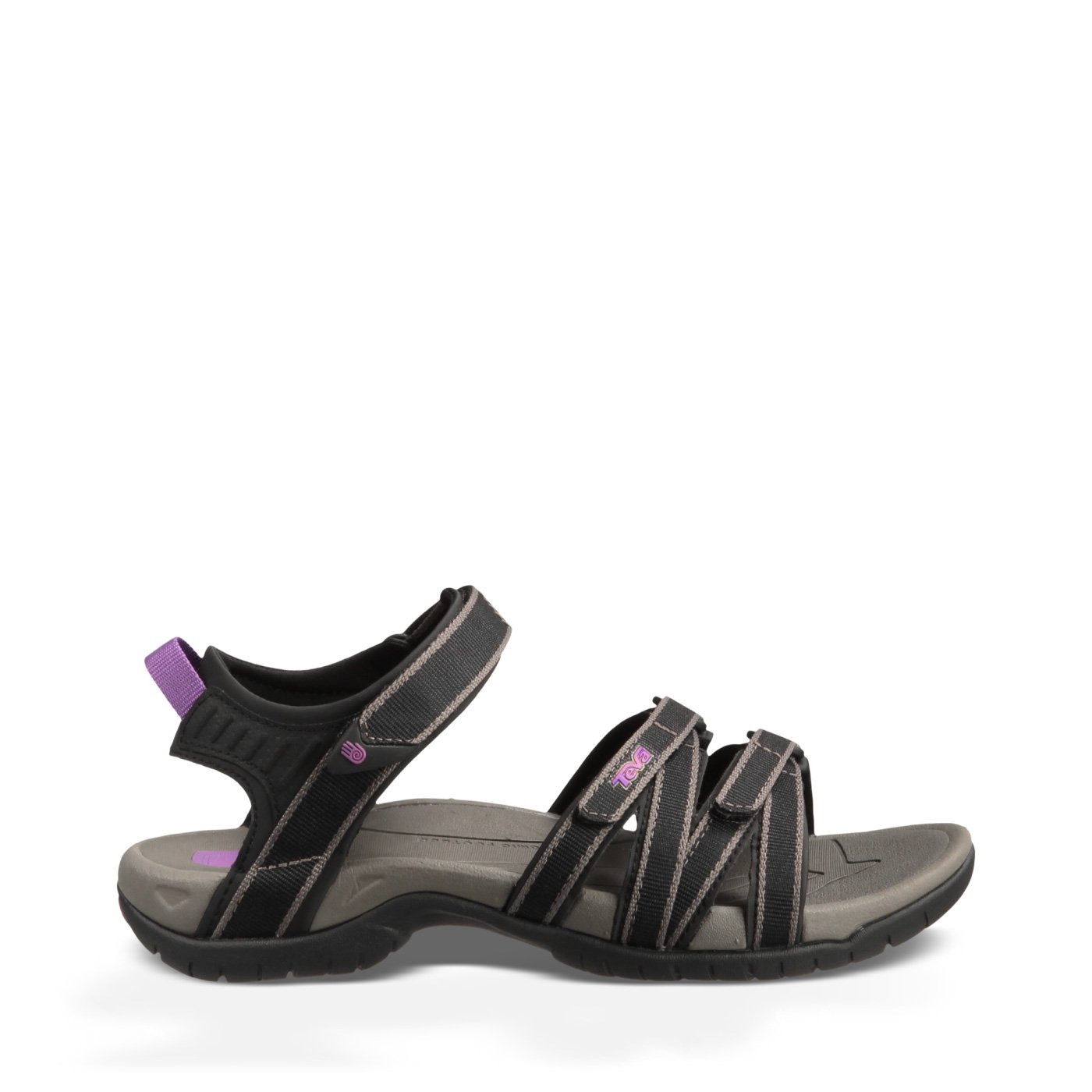 Teva Women's Tirra Sandal,Black/Grey,8 M US