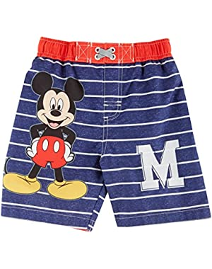 Mickey Mouse Baby Boys Swim Trunks