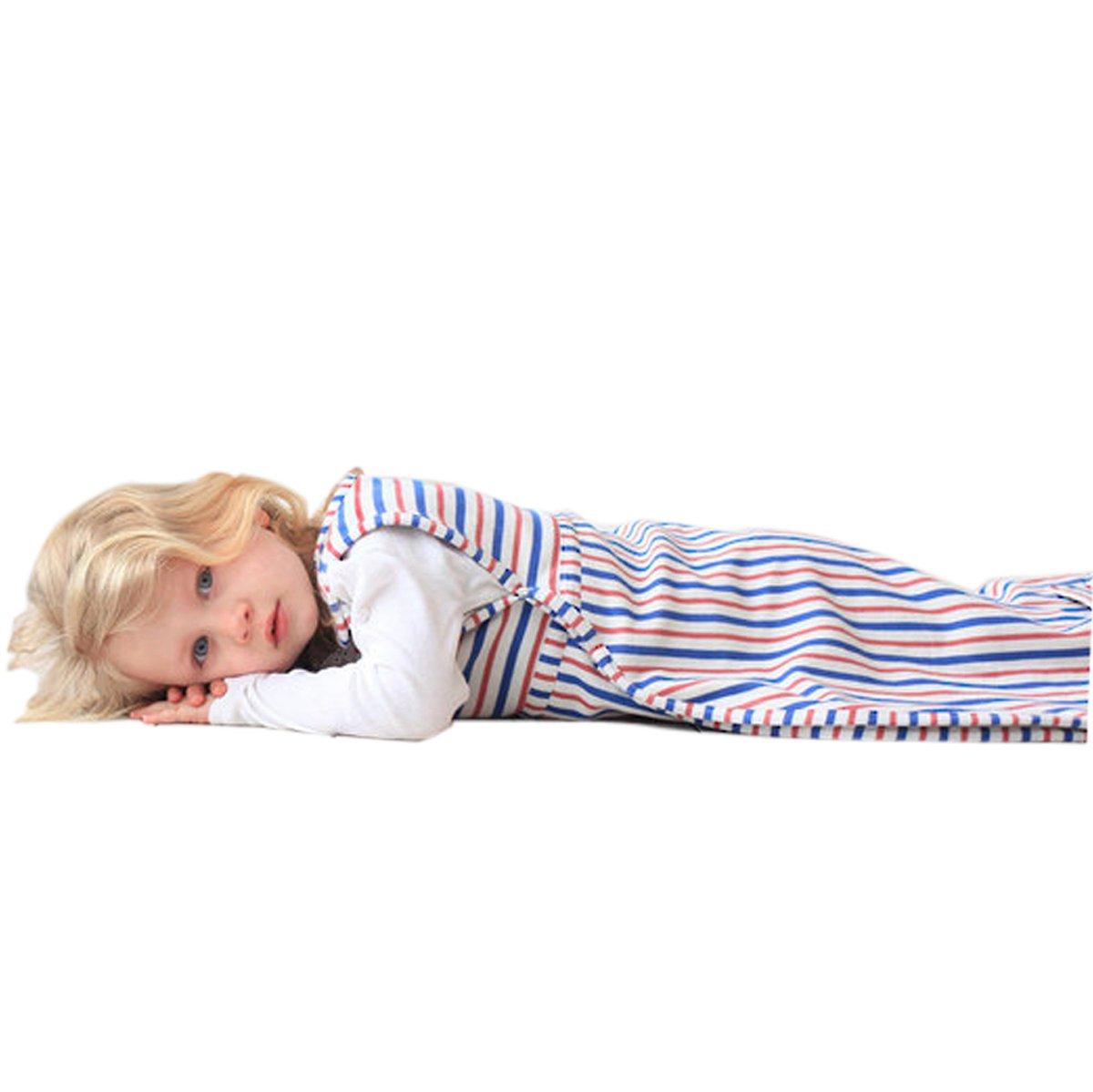 Merino Kids Winter-Weight Baby Sleep Bag For Toddlers 2-4 Years, Banbury/Raspberry