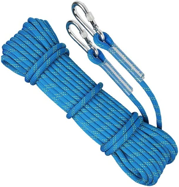 LIINA ロープ 11ミリメートルの耐摩耗性ロープ、高強度ポリエステル多サイズ多目的引張強度強いタフと強い耐食性 (Size : 50M)  50M