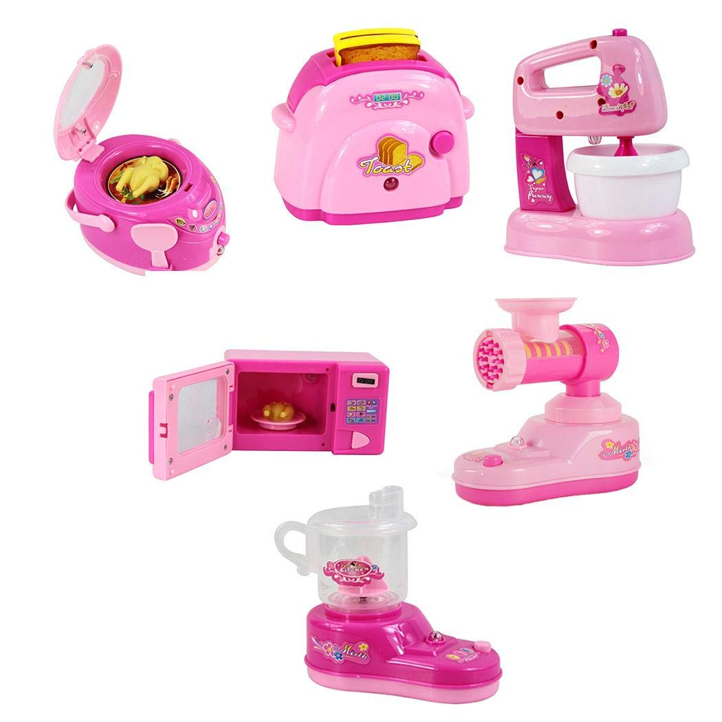 XioNiu Kids Simulation Small Electric Kitchen Home Appliances Role Play Pretend Toy Quilt Stands