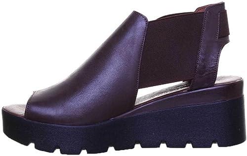 Justin Reece Mujer Damas plantilla todo el cuero mula comodidad Size UK 3-8