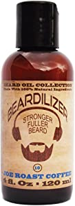 Beardilizer Beard Oil Collection - #10 Joe Roast Coffee 4 Oz - Made with 100% Natural Ingredients