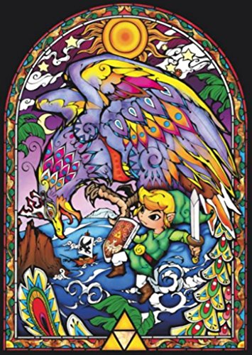 legend of zelda wind waker poster