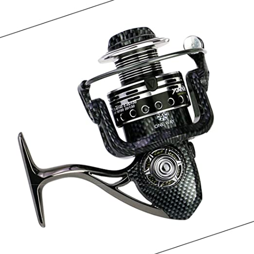 Pesca Caliente Spinning Carrete Seamless Metal BA 1000-7000 Carpa ...