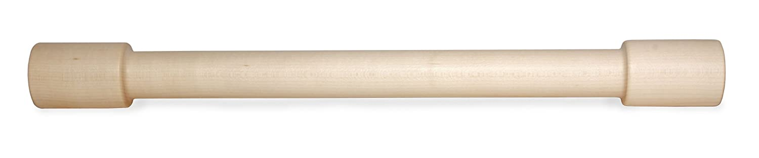 J.K. Adams Lovely Maple Wood Rolling Pin, 18-inches by 1-3/4-inches by 1/4-inches JK Adams LOVELY-3
