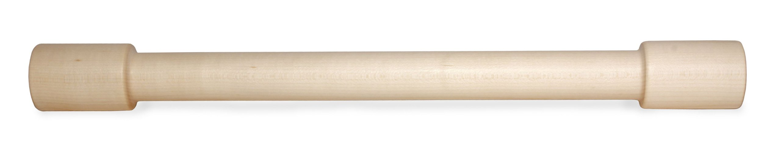 J.K. Adams Lovely Maple Wood Rolling Pin, 18-inches by 1-3/4-inches by 1/4-inches